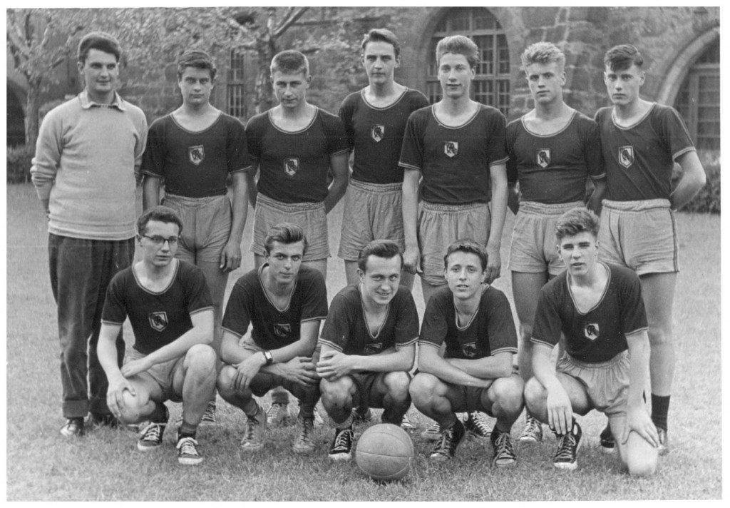 Der Deutsche Jugend-Basketballmeister von 1956 (Slg. Wolfgang Luckenbach)