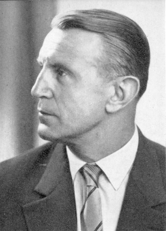 Professor Dr. Otto Neumann, Gründer der Basketball-Abteilung des USC (Slg. Gerhard Treutlein)