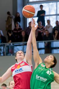 Anne Zipser gegen Bamberg - 19.03.16