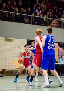 Benavente und Carlson im Two-Man-Game